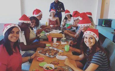 Almoço natalino