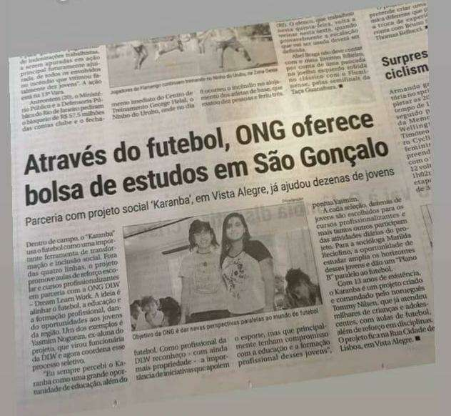 DLW Recruitment at Projeto Karanba de Futebol 01