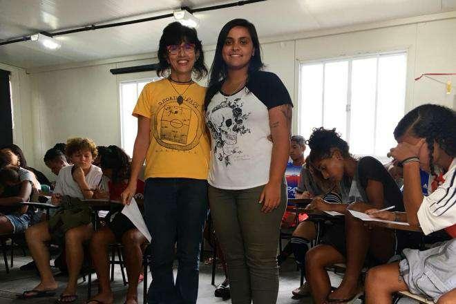 DLW Recruitment at Projeto Karanba de Futebol 02
